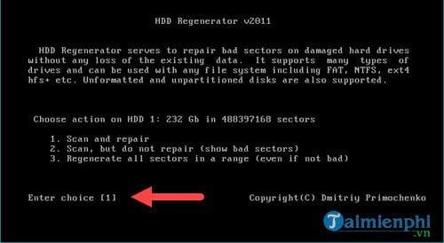 Cách sửa ổ cứng bị BAD nặng 5