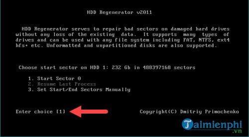 Cách sửa ổ cứng bị BAD nặng 6