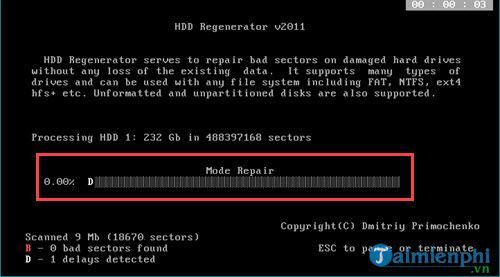 Cách sửa ổ cứng bị BAD nặng 7