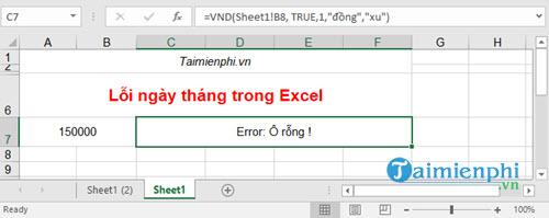 Cách đổi số thành chữ trong bảng tính Excel bằng VnTools 2010, 2013, 2007, 2003, 2016  34