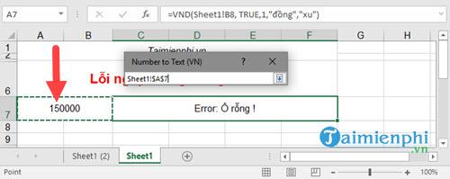 Cách đổi số thành chữ trong bảng tính Excel bằng VnTools 2010, 2013, 2007, 2003, 2016  36