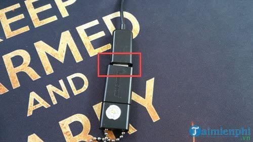 Các bước kết nối USB với điện thoại Android qua cổng OTG 3