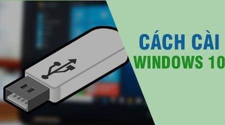 cach cai windows 10 fall creators update