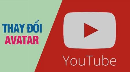 thay avatar youtube