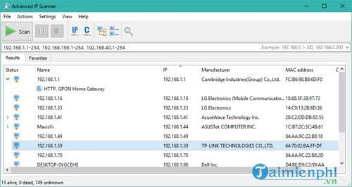 How to find the router's IP address on Windows 10 10