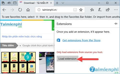 Mẹo thêm IDM vào Microsoft Edge để tự động bắt link