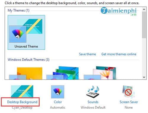 Tự động thay đổi hình nền Windows 10, 8.1, 7