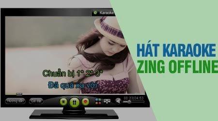 huong dan hat karaoke tren may tinh laptop voi zing karaoke