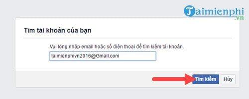 Cách lấy lại mật khẩu Facebook bằng Gmail 2