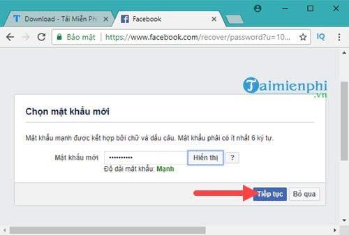 Cách lấy lại mật khẩu Facebook bằng Gmail 6