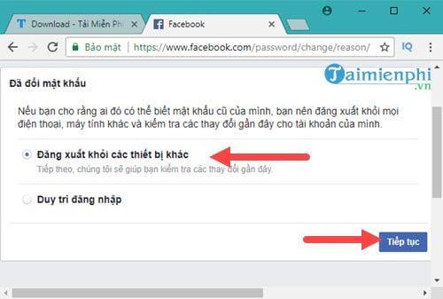 Cách lấy lại mật khẩu Facebook bằng Gmail 7