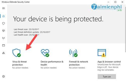 huong dan bat tinh nang chong ransomware tren windows 10 fall creators update 3