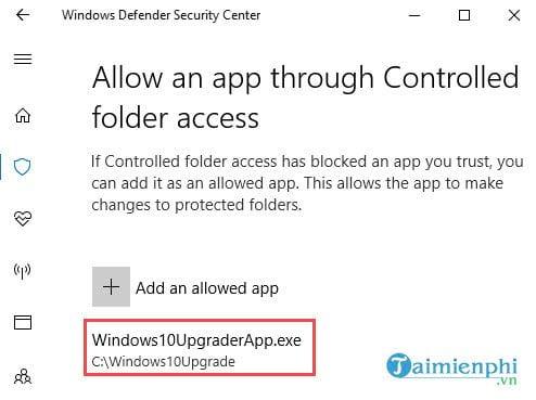 huong dan bat tinh nang chong ransomware tren windows 10 fall creators update 10