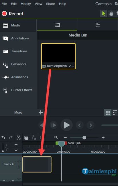 How to create a vegetarian program for video with camtasia studio 4