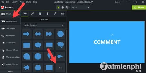How to create a vegetarian program for video with camtasia studio 5