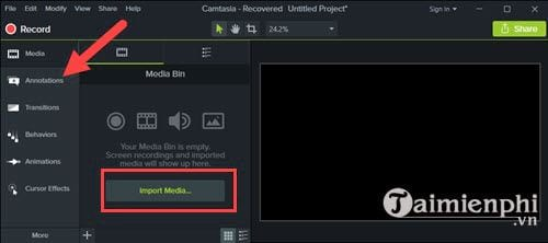 How to add animations to videos with camtasia studio 3