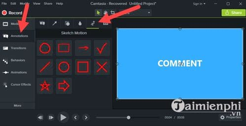 How to add animated images to video with camtasia studio 6