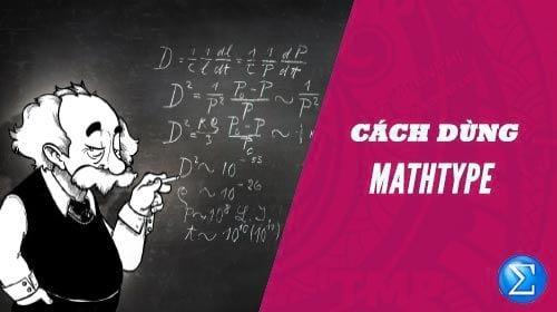 cach su dung mathtype