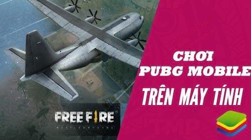 cach choi free fire battlegrounds tren may tinh