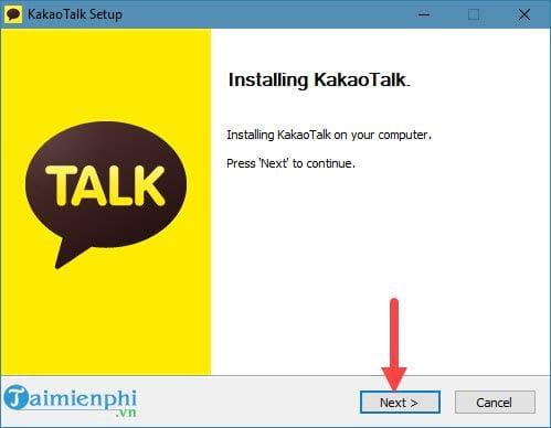 Cách cài đặt KakaoTalk trên máy tính 11