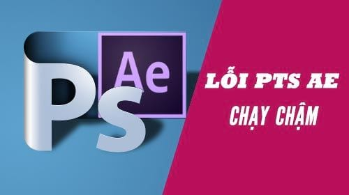 loi laptop chay photoshop va after effect bi cham do