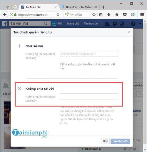 Cách bật, tắt thông báo sinh nhật mình trên facebook 10
