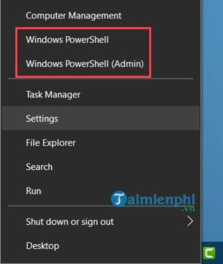 cach mo powershell trong windows 10 4