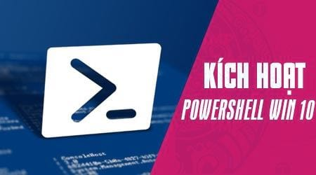 cach mo powershell trong windows 10