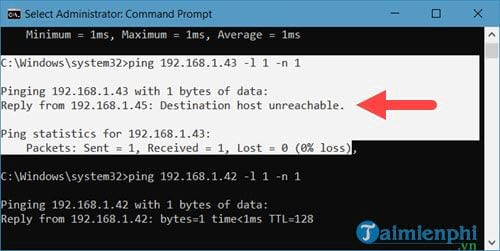 How to find the IP address of another person with the ping command in command prompt 7