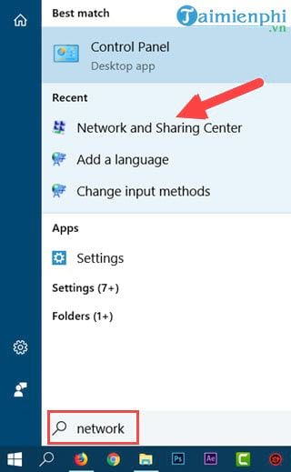 connection settings windows 10