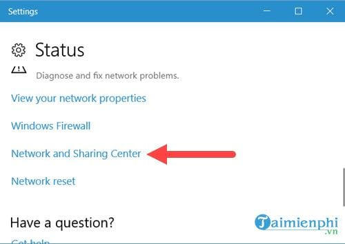 cach mo networks connections tren windows 10 8