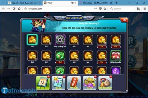 Code Yugi H5, nhận Giftcode Yugi H5 9