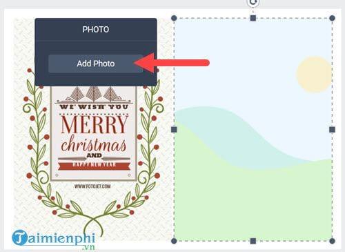Cách dùng Fotojet làm thiệp Giáng Sinh đẹp tuyệt