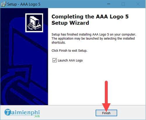 Cách cài đặt AAA Logo