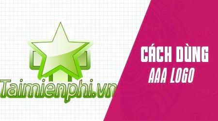 cach su dung aaa logo