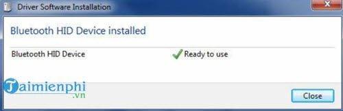 Cài thiết bị Bluetooth trong Windows 7