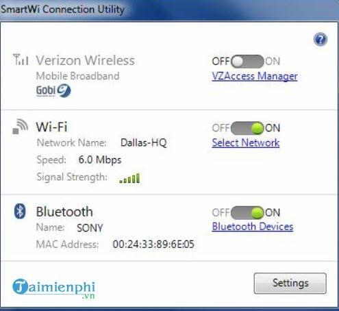 Cài đặt thiết bị Bluetooth trong Windows 7 7