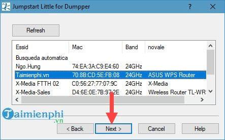 Bộ phần mềm dò tìm pass wifi JumpStart và Dumpper 11