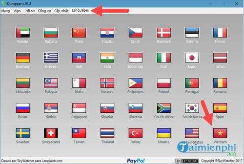 Bộ phần mềm dò tìm pass wifi JumpStart và Dumpper 6
