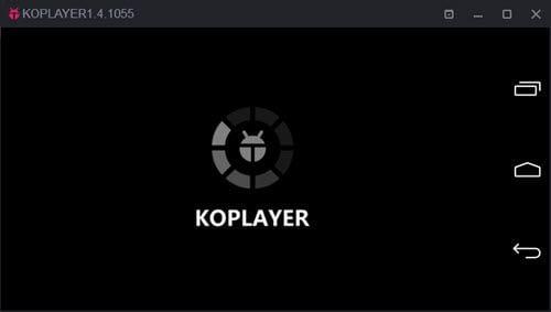 KOPlayer không đủ bộ nhớ