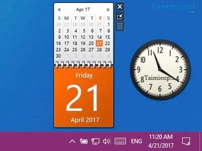 Cách hiển thị ngày giờ trên máy tính lên màn hình Windows 10 6