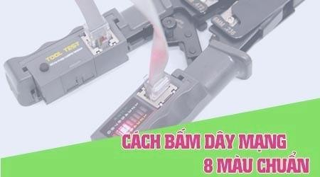 cach bam day mang 8 mau bam day cap ket noi chuan