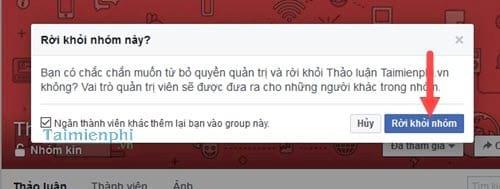 Cách xóa nhóm trên Facebook Workplace