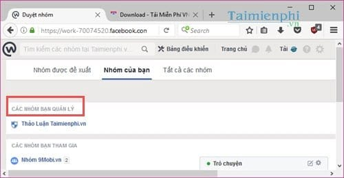 Cách lưu trữ hoặc bỏ lưu trữ nhóm Facebook Workplace