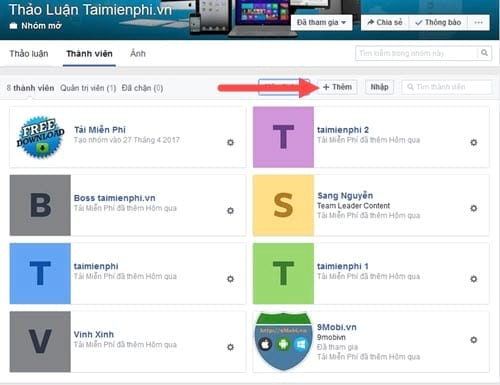 Cách thêm xóa quản trị viên, người dùng trong nhóm Facebook Workplace