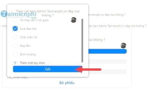 cach tao poll binh chon tren facebook messenger 8