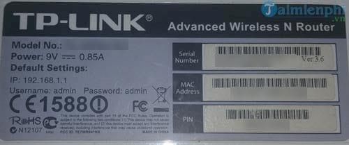 Cách đổi mật khẩu Wifi TP-LINK TL-WR845N