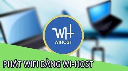 cach phat wifi tren may tinh bang wi host
