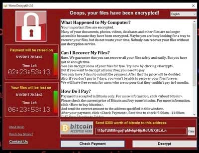 ransomware wanna crypt la gi cach kiem tra wanna cry trong may tinh