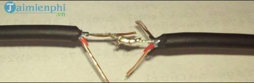 Cách nối dây tai nghe, headphone, dây loa ngoài khi bị đứt 8